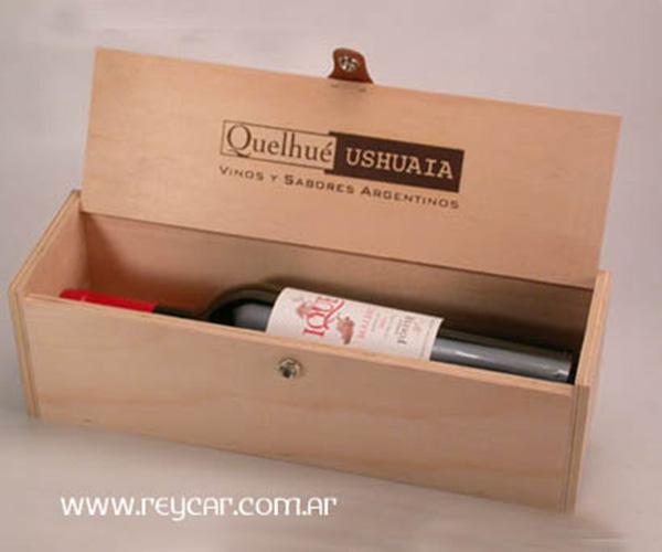 Cajas de madera para vinos cajas grabado a fuego o l ser - Cajas de madera para botellas ...