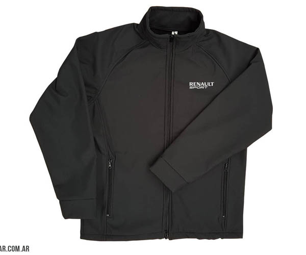 Campera TRECK tela softshell impermeable. Respirable. wind stoper. Liviana...